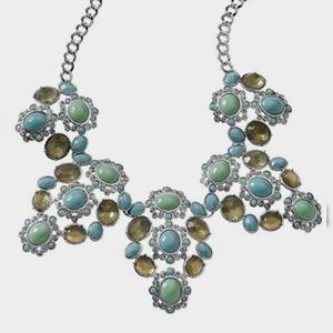 NEW Lia Sophia Fondant Pastel Blues Necklace